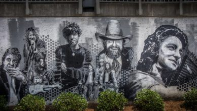 mural of country stars in nashville tennessee