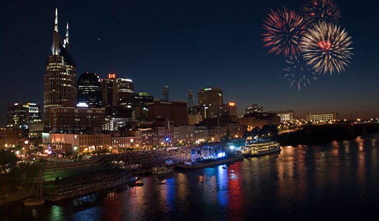 Downtown Fireworks