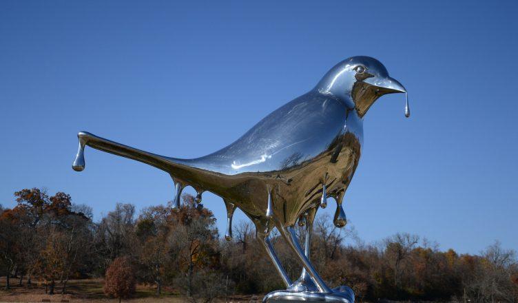 Shelby Park Bird Statue