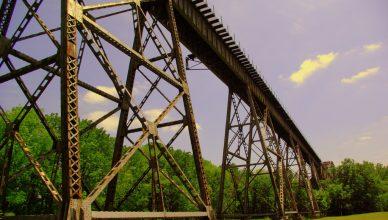 Shelby Park Train Tressle